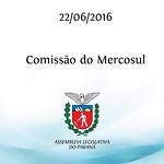 Comiss�o do Mercosul e Assuntos Internacionais 22/06/2016