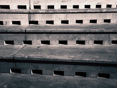 Entrances to discover (Argyro...) Tags: blackandwhite abstract geometric monochrome lines