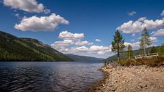 Somewhere in Norway (consen81) Tags: mountain lake nature water norway rock landscape wasser hill natur norwegen olympus bergen landschaft omd roundtrip roros elverum em10 rundfahrt femunden fjorde fermunden kirkenaer