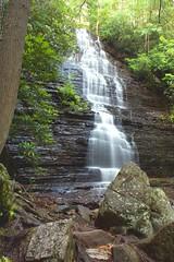 Falling through the cracks (VictorDMD) Tags: lake nature water forest waterfall nikon cracks