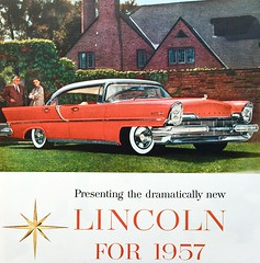 Vintage Ad - 1950s Lincoln (Christian Montone) Tags: ads advertising vintage vintageads vintagegraphics
