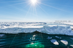 I asked for Icecream and got this (Explored) (Hkon Kjllmoen, Norway) Tags: ocean summer snow ice sunshine is svalbard arctic polar sunrays 2016