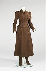 1896. The Star Bicycle Suit (foot-passenger) Tags:  1896 themetropolitanmuseumofart metmuseum