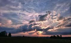 Sunset (Zejdla CZ) Tags: západslunce sunset amazing colours sky clouds sun svratouch czechrepublic česká z3c českárepublika mobilephonephotography nature landscape xperia mobile phone photography vysočina highlandsregion