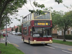 East Yorkshire 668 PN02XBR Gower Rd, Hull on 66 (1280x960) (dearingbuspix) Tags: eastyorkshire 668 eyms pn02xbr