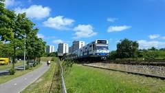 Ex-Bajes (Peter ( phonepics only) Eijkman) Tags: city holland netherlands amsterdam subway metro transport nederland rail rails noordholland gvb nederlandse