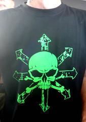 Concierto 30 aniv. POTENCIAL HARDCORE - Arte (Fotos de Camisetas de SANTI OCHOA) Tags: calavera