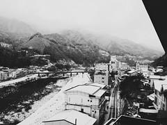 : Morning in Gero (Jon-F, themachine) Tags: winter mountain mountains japan asian asia olympus gero  nippon japo oriental orient fareast   gifu  nihon omd hida japn 2016  m43  mft    gifuken    geroonsen mirrorless    micro43 microfourthirds  ft xapn jonfu   mirrorlesscamera snapseed   em5ii em5markii