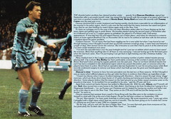 Manchester City vs Oldham Athletic - 1983 - Back Cover Page (The Sky Strikers) Tags: road xmas city canon magazine manchester football athletic maine second match oldham division saab league the 40p