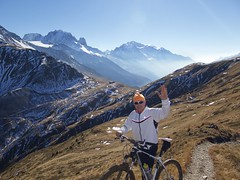 Above Col de Balme (will_cyclist) Tags: cycling chamonix vtt balme