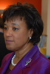 2009: Baroness Scotland visit to Tulse Hill (activecn) Tags: uk woman black female justice first lac politician government british law barrister qc labourparty attorneygeneral footballfoundation queenscouncil baronessscotland londonactivecommunities stmartininthefieldschool criminaljusticesysytem patriciascotland