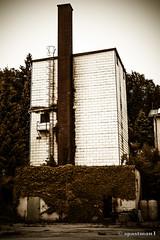 Old Josko (spastman1) Tags: old building abandoned factory over samsung down burnt left josko nx nx300