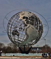 Unisphere (ArtFan70) Tags: nyc newyorkcity sculpture usa ny newyork art fountain america globe unitedstates earth queens sphere clarke unisphere worldfair flushing americanbridgecompany flushingmeadowscoronapark newyorksworldfair theunisphere gilmoredclarke gilmoreclarke