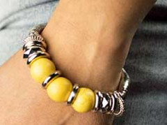 Sunset Sighting Yellow Bracelet K1 P9440-2