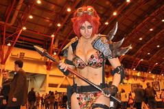 Post Apoc Red Sonya (Ibrahim D Photography) Tags: london costume cosplay comiccon comicon con lfcc londonfilmcomiccon redsonya cosplaygirls tabithalyons wlfcc postapocredsonya