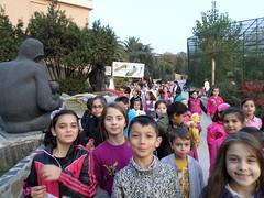 Bilgievi Öğrencileri Hayvanat Bahçesinde