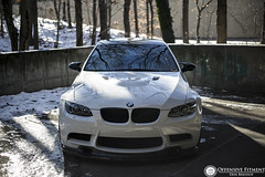 Zach's M3 (Erik Breihof Photography) Tags: white snow cars car canon photography photographer shots nation automotive fresh clean bmw static erik rollers flush m3 offensive lowered rolling hella slammed stance 6d bimmer lowlife proper fitment e92 prpl stanced breihof