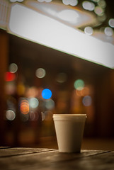 Cold Tea (graeme murray - digitalplaces) Tags: signs lights pier takumar 55mm f18 amusements southport funland
