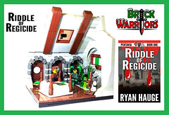 Holiday Gift Guide From A-Z: M is for the MOCs You Can Now Create! (MandaBW) Tags: book lego ryan adventure fantasy novel knives publishing weapons riddle thriller moc hauge regicide brickwarriors