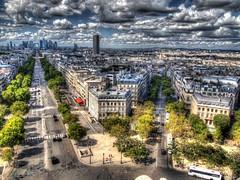P8260301_2_3_tonemapped (Andrew Kettell) Tags: city paris france tower de arc scenic eiffel hdr atmospheric triumphe