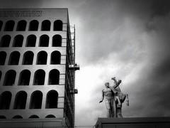 the Palazzo della Civiltà Italiana.