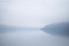 Domenica uggiosa (Luca Margoni) Tags: lago fuji nebbia foschia caldonazzo uggiosa
