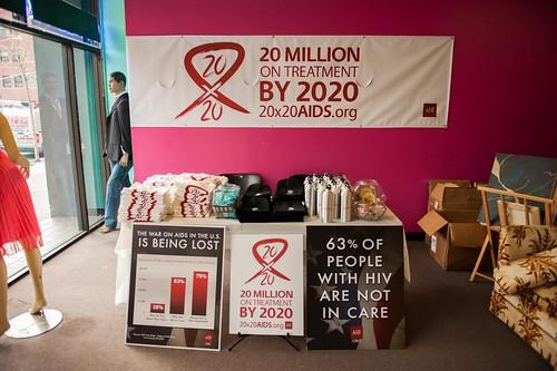 World AIDS Day 2014: USA - New York
