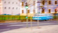 Combi (JSEBOUVI : 2 millions views !) Tags: road blue sky tree verde green portugal azul photo nikon foto lisboa lisbon vert line bleu route imagination rua arvore rue arbre panneau flou ligne lisbonne belm 18105 2014 imaginaire feuvert d5100 jsebouvi sbastienbouvier dcembre2014