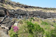 India - Maharashtra - Ajanta Caves - Overview - 9 (asienman) Tags: india rock maharashtra ajantacaves asienmanphotography