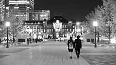 World For Two (somazeon) Tags: station japan lumix tokyo cosina voigtlander 日本 東京 秋 nokton 東京駅 f095 gx7