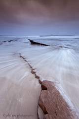 Coquet Rush (Pureo) Tags: seascape canon sand rocks waves northumberland northsea northeast whoosh amble coquetisland canon6d lowhauxley