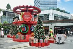 Jem #4 (chooyutshing) Tags: plaza decorations singapore display shoppingmall jem xmastrees christmasfestival2014