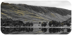 Buttermere - b&w (seth2252013) Tags: travel lake nationalpark lakedistrict adventure cumbria buttermere sentinels
