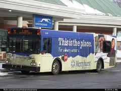 Erie Metropolitan Transit Authority 0104 (TheTransitCamera) Tags: new city bus public flyer pennsylvania authority transit service erie metropolitan d35lf emta0107