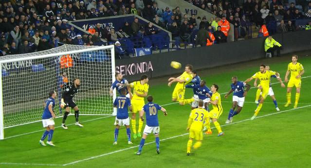 Kane heads towards Goal
