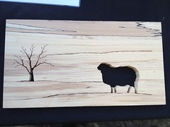 Sheep & Tree