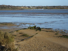 Arlesford Creek from Fingringhoe Nature Reserve 2nd January 2015 (dbidwell78) Tags: nature creek wildlife january reserve rover 2nd trail trust essex colchester ger colne fingringhoe wivenhoe arlesford 2015 j15
