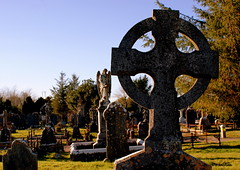Celtic Cross. (K.Mackessy) Tags: cemetery graveyard cross celtic tombstones cobh