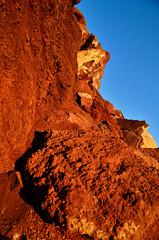 Sunset island (S. Hemiolia) Tags: red landscape rocks santorini greece grecia dxo rocce rosso paesaggio cyclades cicladi redbeach filmpack kykldes