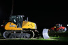 Mighty night machines (GLC 392) Tags: new red yellow night photography tracks center case international byron brand bulldozer harvester dorr 580 quadtrac 1650m wwwcasececom