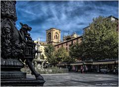 Plaa de Bib-Rambla.  - Square Bib-Rambla. Granada (Andalucia-Spain). (Antoni Gallart i Vilarrasa) Tags: andalucia granada font mercat paisatge plaa bibrambla urb