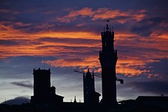 Sunset in Siena!