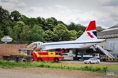 Concorde G-BBDG (hjakse) Tags: uk england unitedkingdom surrey concorde britishairways weybridge bac vickers brooklands storbritannien grosbritannien