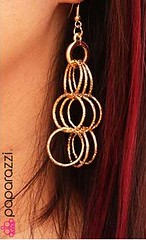 5th Avenue Gold Earrings K1 P5010-2
