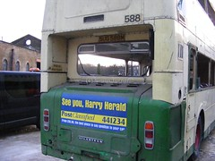 Leeds City Transport 588 recovery 2015, 00116, (Yorkshire66) Tags: city rescue west radio metro yorkshire transport leeds passenger bacardi halifax rider aire roe recovery jumbo leyland pte atlantean sug588m