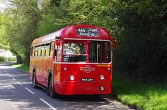 IMGP0358 (Steve Guess) Tags: uk red england bus london water virginia transport surrey gb iv regal rf egham aec mxx294 rf406
