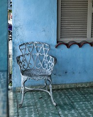 on the porch (s@ssyl@ssy) Tags: chair cuba veradero shabby