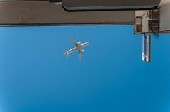 Airplane (Oikonomou Kostas) Tags: airplane surrealism sky nikon sigma 30mm