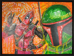Nerdcore IV: The Art Awakens May 7th 2016 (slushbox) Tags: show original west art nerd beach shop tattoo illustration watercolor painting artist gallery geek florida south palm nerdy lowbrowart