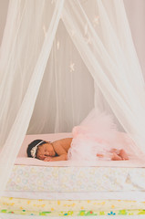 The Littlest Princess (LornaTaylor) Tags: copyright2016lornataylor lornataylor taylorimagesca baby newborn stars princess sleeping girl babygirl pink crown tutu pinktutu cute littleprincess lornataylorphotography